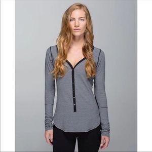 Lululemon Awesoma Henley Shirt 6